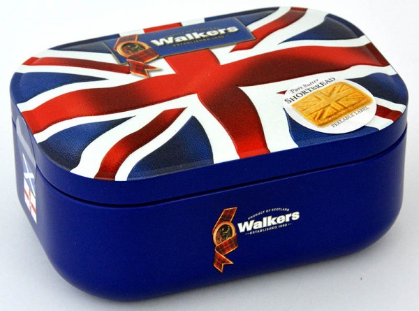 Walkers Shortbread Union Jack Tin 120g