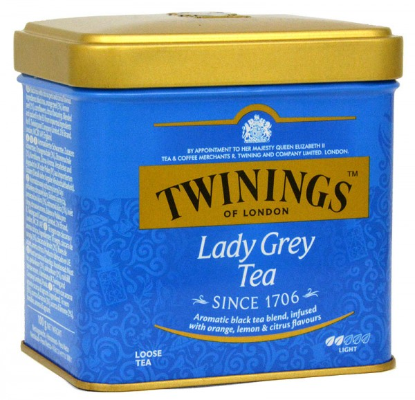 Twinings Lady Grey lose 100g in der Dose