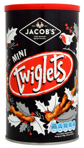 Jacobs Mini Twiglets Caddy 200g