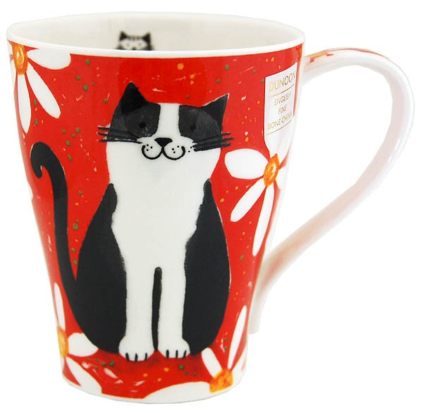 Dunoon Solway Daisy Cats Red