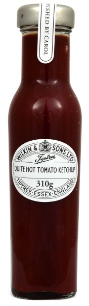 Wilkin & Sons Tiptree Quite Hot Tomato Ketchup