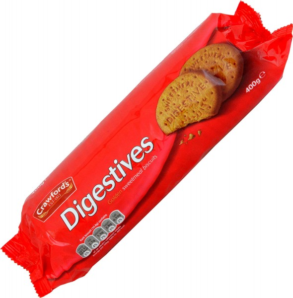 Crawfords Digestives 400g Biscuits