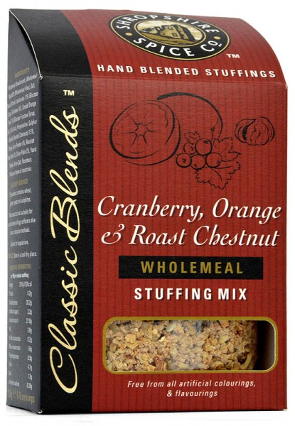 Shropshire Cranberry, Orange & Chestnut Stuffing Mix