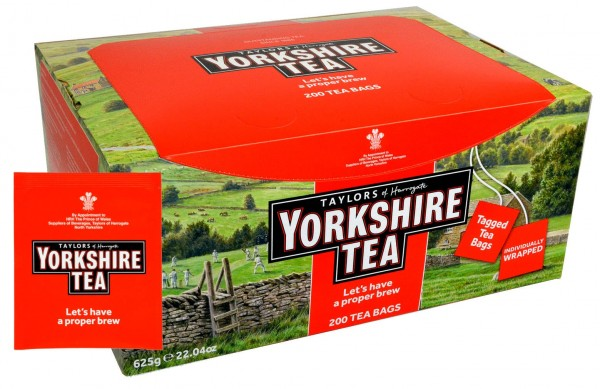 Yorkshire Tea 200 Bags One Cup - 500 g