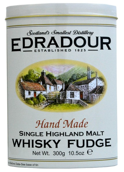 Gardiners of Scotland Edradour Whisky Fudge Tin
