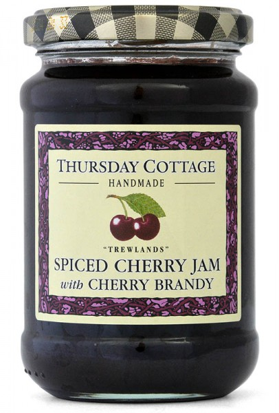 Thursday Cottage Spiced Cherry Jam with Cherry Brandy 340g