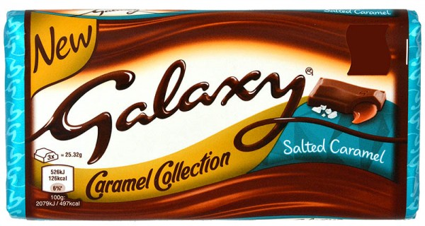 Galaxy Salted Caramel 135g