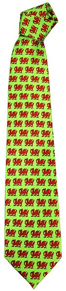 Welsh Dragons Tie - Wales-Krawatte
