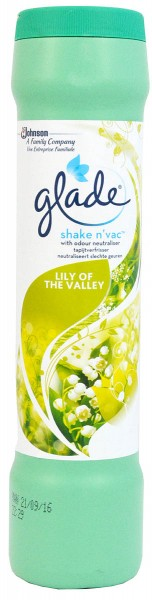 Glade Shake n´vac Lily of the Valley 500g