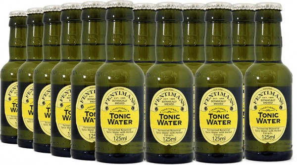 Fentimans Tonic Water 125ml, 24er-Tray