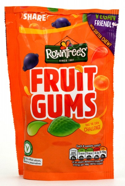 Rowntrees Fruit Gums Bag 120g