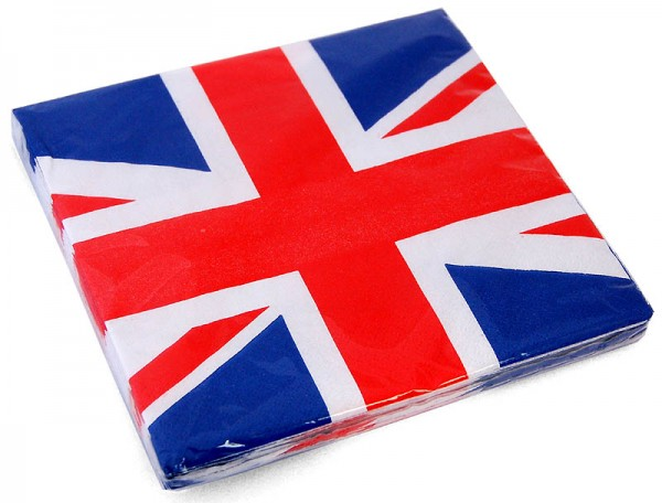Papierserviette Union Jack 16er Pack