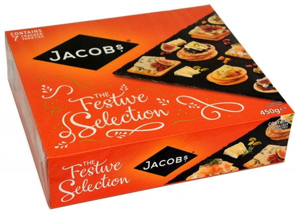 Jacobs Christmas Crackers 450g Festive Selection