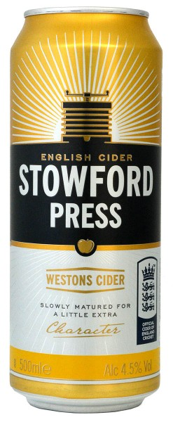 Westons Stowford Press English Cider Can