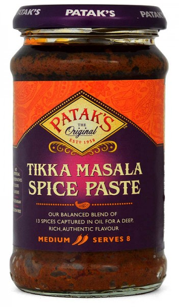 Pataks Tikka Masala Curry Spice Paste 283g