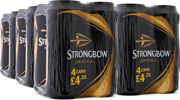 Strongbow Cider Original, Tray 24 x 440ml