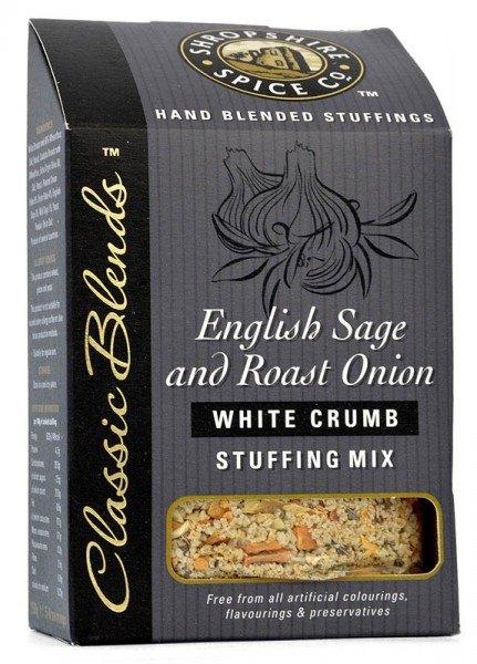 Shropshire English Sage & Roasted Onion Stuffing Blend