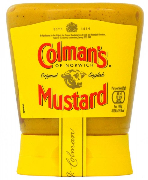Colmans Original English Mustard Squeezy 150 g