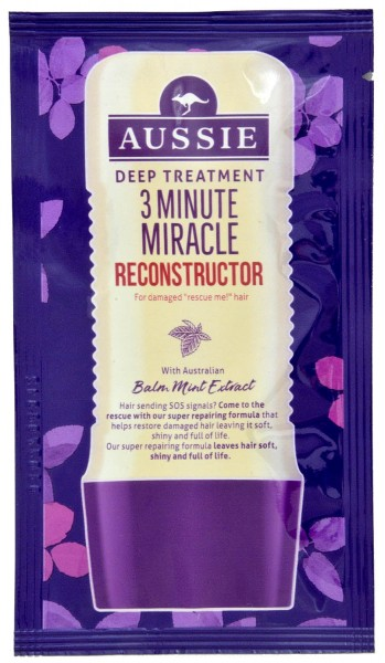 Aussie 3 Minute Miracle Hair Reconstructor 20ml