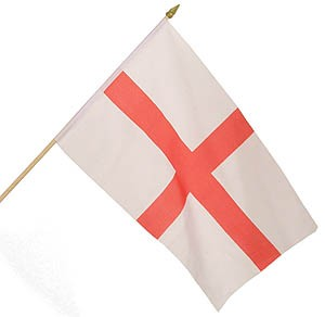 England Large Handwaving Flag