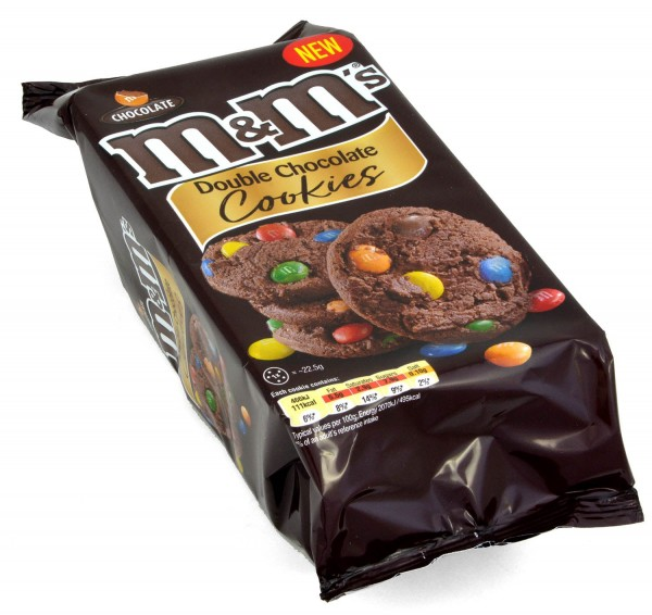 M&Ms Double Chocolate Cookies 180g