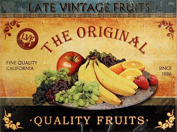 Magnet ´The Original Quality Fruits´