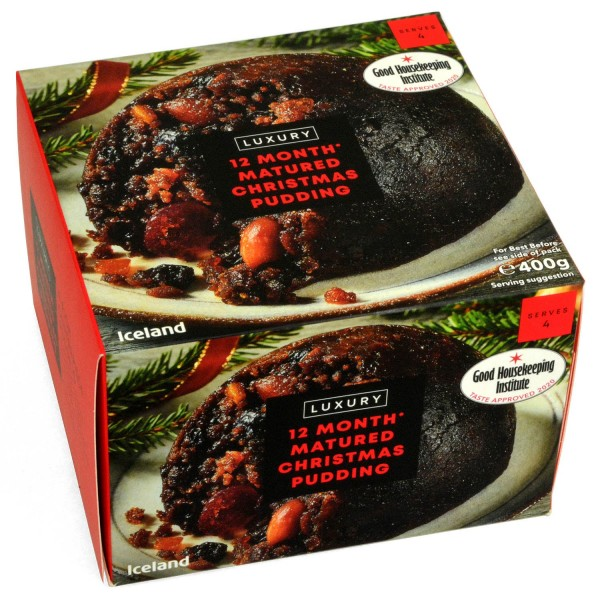 Iceland Luxury Christmas Pudding 454g