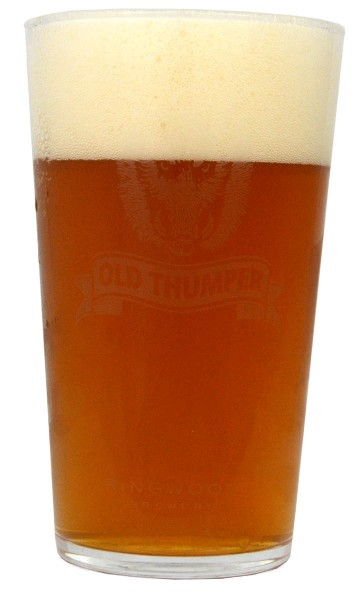 Ringwood Bierglas Old Thumper 1 Pint