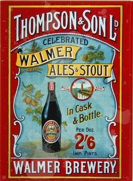 Magnet ´Walmer Brewery Ales & Stout´
