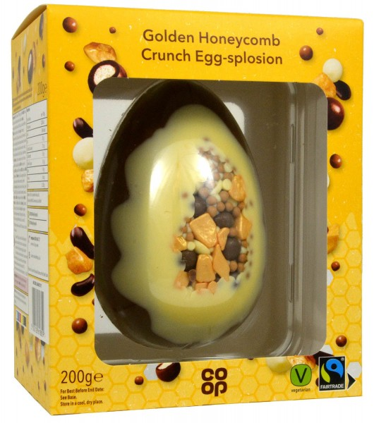 Co-op Golden Honeycombed Crunch Egg-splosion 200g