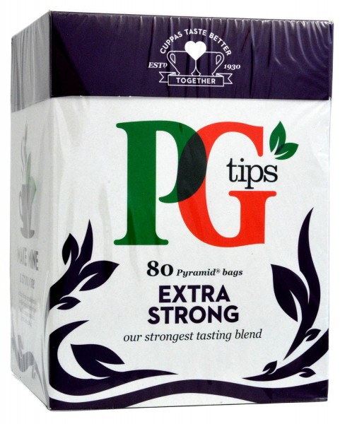 PG Tips Extra Strong 80 Bags 232g