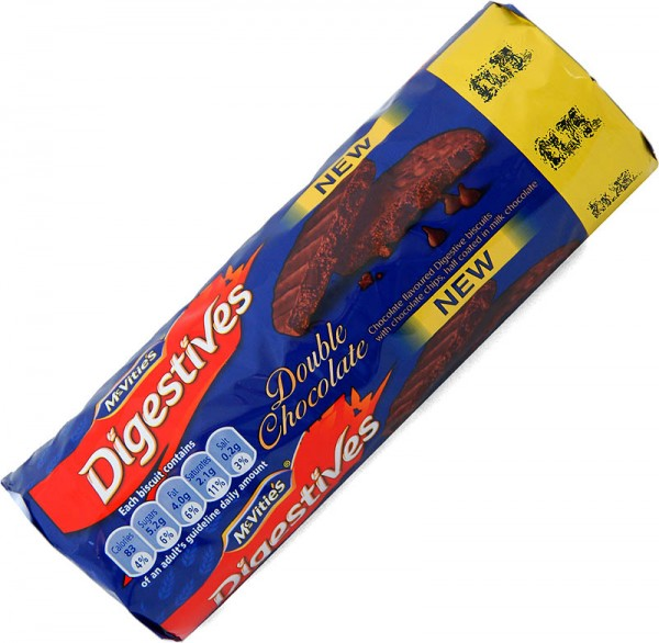 McVities Double Chocolate Digestives 267g