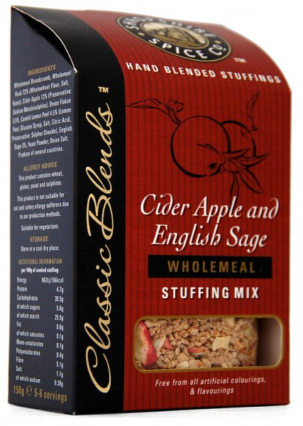 Shropshire Cider Apple & English Sage Stuffing Mix