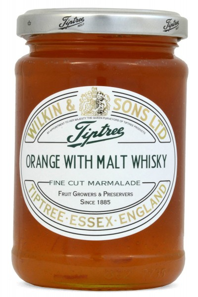 Wilkin & Sons Orange & Malt Whisky Marmalade - mit Whisky
