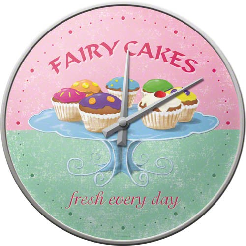 Wall Clock ´Fairy Cakes´