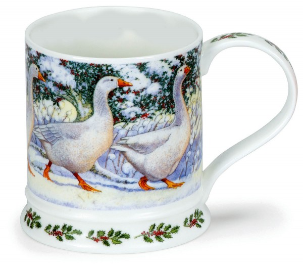 Dunoon Iona Festive Birds - Geese by Richard Partis