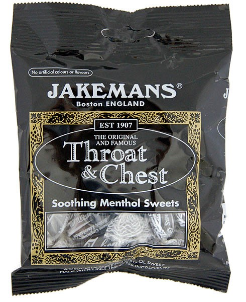 Jakemans Throat & Chest Sweets 100g