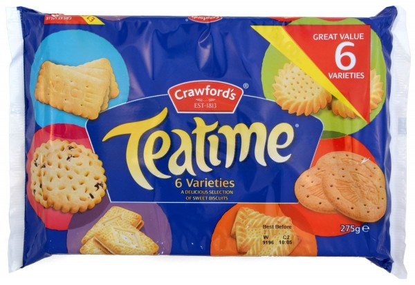 Crawfords Teatime Biscuits Variety 275g