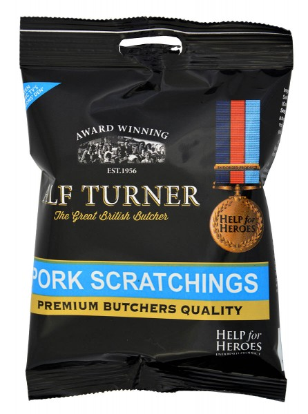 Alf Turner Pork Scratchings 70g