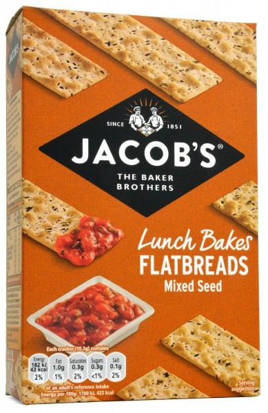 Jacobs Flatbreads Mixed Seeds 150g