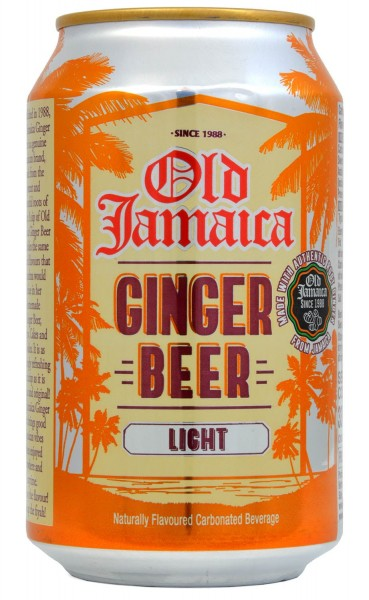 Old Jamaica Light Ginger Beer 330ml Dose