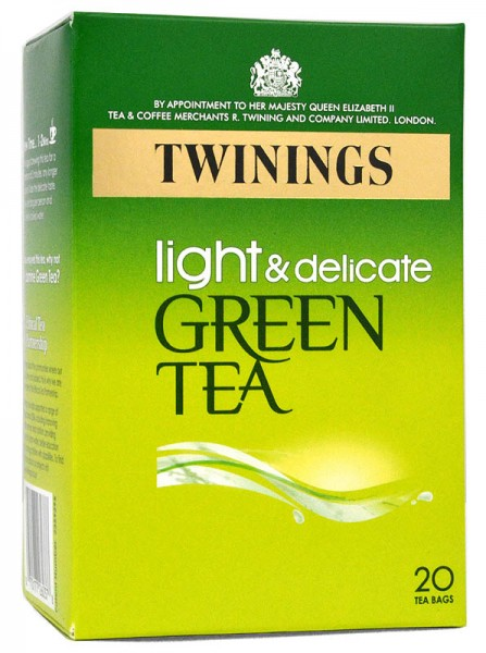 Twinings Light & Delicate Pure Green Tea 20 Bags