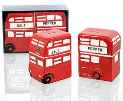 Cruet Set London Bus