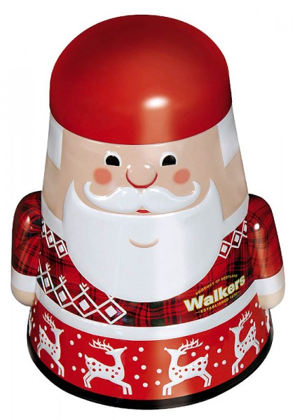 Walkers Shortbread Santa Claus Tin 200g