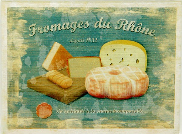 Magnet ´Fromages du Rhone´
