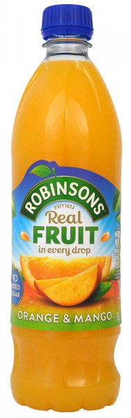 Robinsons Orange & Mango No Added Sugar NAS