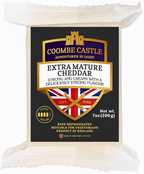 Coombe Castle Extra Mature Cheddar 200g