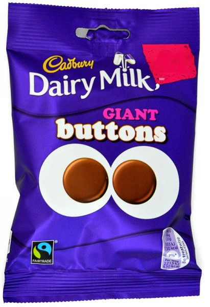 Cadbury Dairy Milk Giant Buttons 80g
