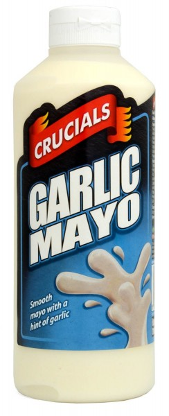 Crucials Garlic Mayo 500ml