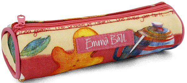 Teatime Small Pencil Case by Emma Ball